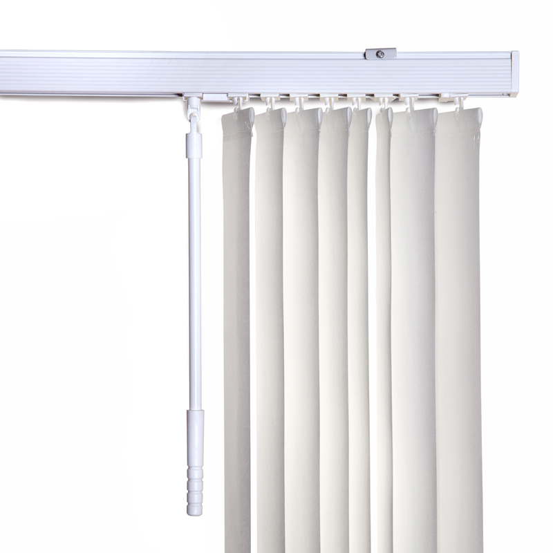 Zara vertical blind in cream quality made to measure