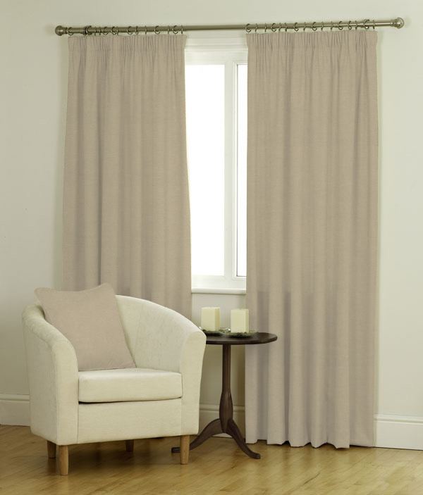Ambassador Faux Suede Barley Curtains