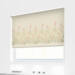 Morning Glory Roller Blind In Blossom Quality Made To