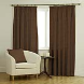 Ambassador Faux Suede Chocolate Curtains