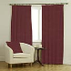 Ambassador Faux Suede Maroon Curtains