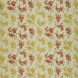 Dotterel BF Terracotta Yellow Curtains