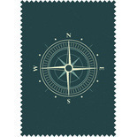 Compass Teal Blackout Blue Designer Blinds