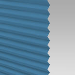Infusion Solar Azure Pleated Freehanging Blinds