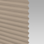 Infusion Solar Beige Pleated Freehanging Blinds