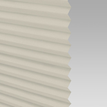 Infusion Solar Cream Pleated Freehanging Blinds