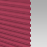 Infusion Solar Hot Pink Pleated Freehanging Blinds