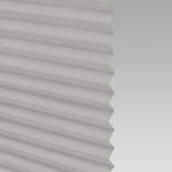 Infusion Solar Iron Pleated Freehanging Blinds