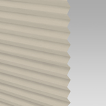 Infusion Solar Ivory Pleated Freehanging Blinds