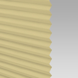 Infusion Solar Lemon Pleated Freehanging Blinds