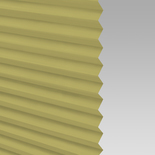 Infusion Solar Lime Green Pleated Freehanging Blinds