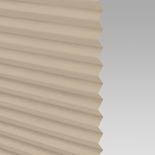 Infusion Beige Pleated Freehanging Blinds