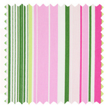 Allegra Peony Stripes & Checks Roman Blinds