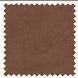 Ambassador Faux Suede Chocolate Roman Blinds