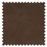 Ambassador Faux Suede Chocolate Brown Roman Blinds
