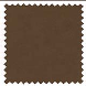 Ambassador Faux Suede Dark Brown Roman Blinds