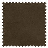 Ambassador Faux Suede Dark Brown Brown Roman Blinds