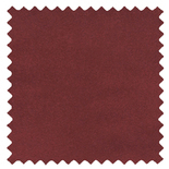 Ambassador Faux Suede Maroon Red Roman Blinds