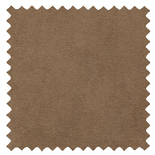 Ambassador Faux Suede Tan Brown Roman Blinds