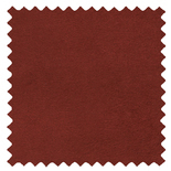 Ambassador Faux Suede Terracotta Red Roman Blinds