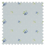 Amelia Cornflower Blue Roman Blinds
