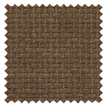 Basket Weave Mink Brown Roman Blinds
