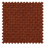 Basket Weave Terracotta Brown Roman Blinds