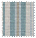 Beachwood Eau de Nil Stripes & Checks Roman Blinds