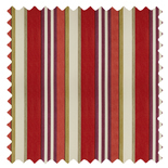 Bowden Berry Stripes & Checks Roman Blinds