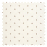 Dotty Natural Thermal Energy Saving Roman Blinds