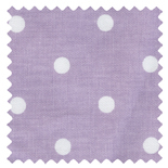 Full Stop Lilac Purple Roman Blinds