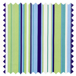 Henley Cobalt Stripes & Checks Roman Blinds