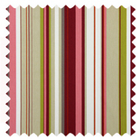 Henley Peony Stripes & Checks Roman Blinds