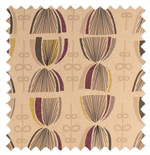 Joplin Plum Purple Roman Blinds