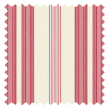 Lulu Stripe Chintz Stripes & Checks Roman Blinds