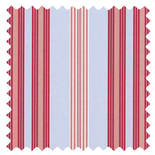 Lulu Stripe Powder Blue Stripes & Checks Roman Blinds