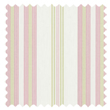Lulu Stripe Rose Stripes & Checks Roman Blinds