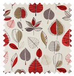 Maple Red Berry Patterns & Designs Roman Blinds