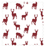 Stag Red Red Roman Blinds