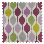 Verve Damson Purple Roman Blinds