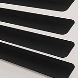 Daylight 25 Matt Black T0049 Venetian Blinds