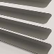 Metallic 25 Metallic Gunmetal T0717 Venetian Blinds