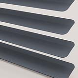 Metallic 25 Pewter T0529 Venetian Blinds