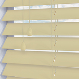 Congo 50 Ecru White and Cream 50mm Wooden Blinds