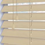 Deep Grain 50mm Nata White and Cream 50mm Wooden Blinds