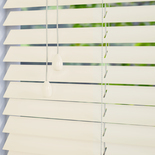 Mississippi 35 Pearl White Wooden Blinds