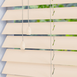 Mississippi 50 Snow - Off White White and Cream 50mm Wooden Blinds