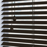Nile 25 Chocolate Wooden Blinds