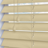 Nile 50 Oyster White and Cream 50mm Wooden Blinds