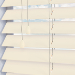 Santa Fe Matte 50mm Eggshell White and Cream 50mm Wooden Blinds